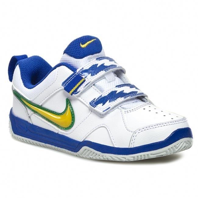 Shoes NIKE - Lykin 11 454475 111 WhitE/Vrsty Mz/Vrsty Ryl/Pr Pl