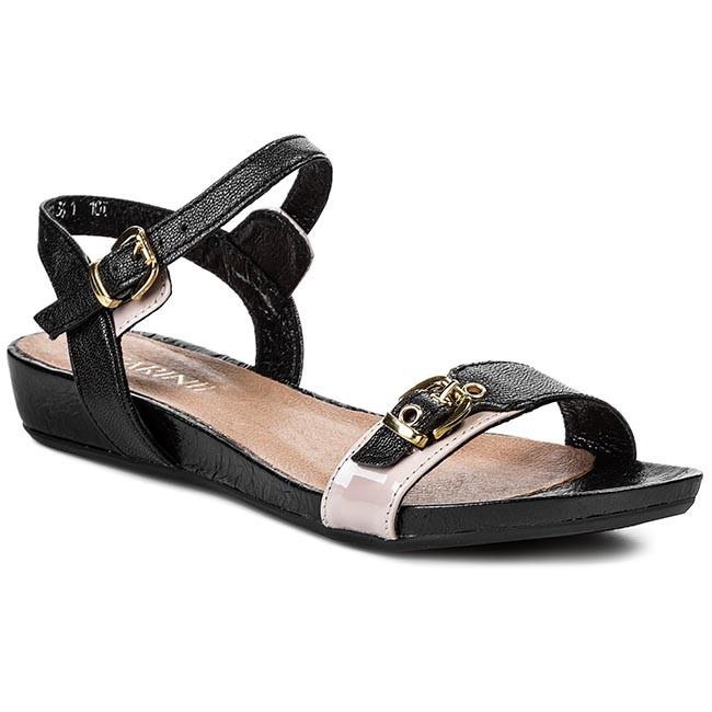 Sandals CARINII - B2169 Lux Soft Czarny L013