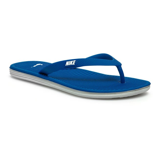 Slides NIKE - 488160 416  Blue Grey