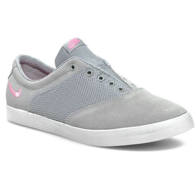 Shoes NIKE - WMNS Nike Mini Sneaker 644593 001 Wolf Grey/Pink Glow/White