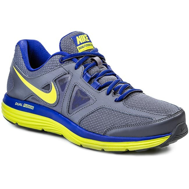 Shoes NIKE - Dual Fusion Lite 2 642817 002 DarkGreen/Vnm Green/Dp Ryl/White