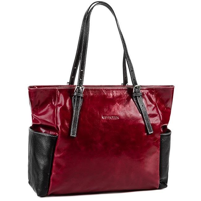 Handbag WITTCHEN - 78-4-542-9 Red
