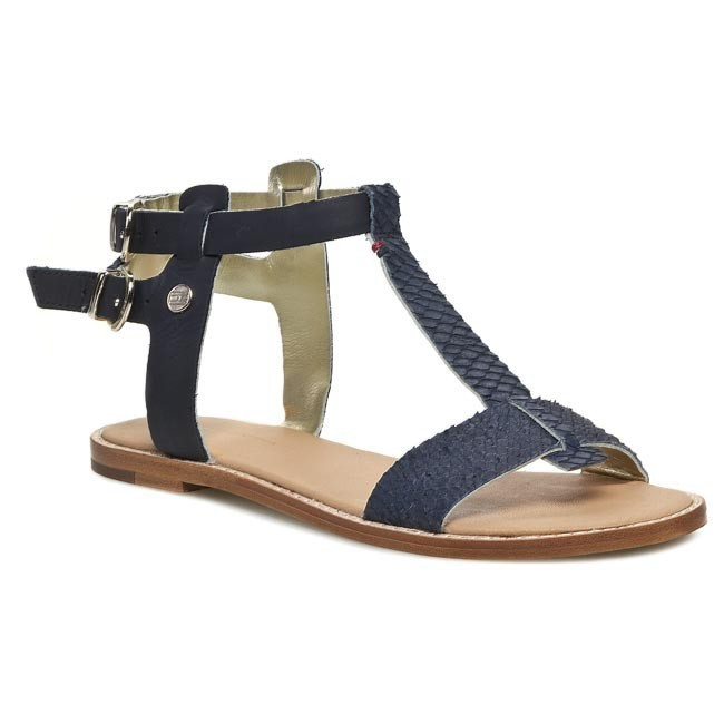 Sandals TOMMY HILFIGER - Jada 5Z FW56816797 Midnight 403