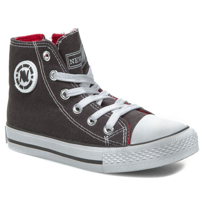 Sneakers NEW AGE - 082K Dark Grey