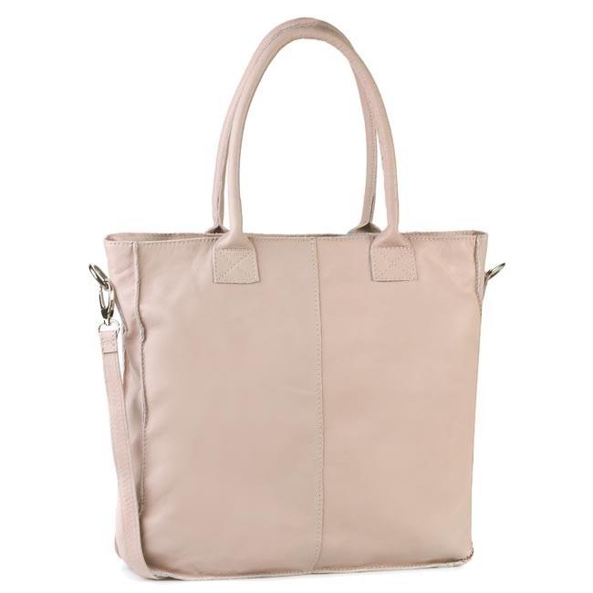 Handbag CREOLE - RBI1196 Pudrowy Róż