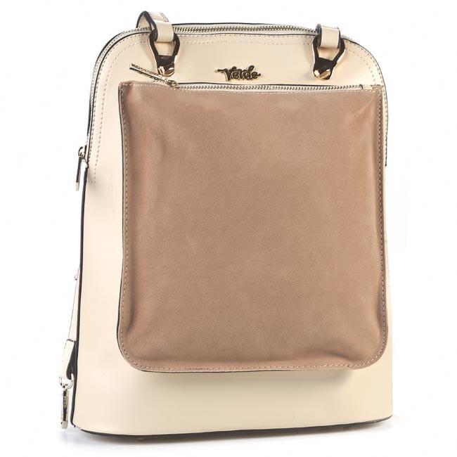 Handbag VERDE - 16-0002516 Beige