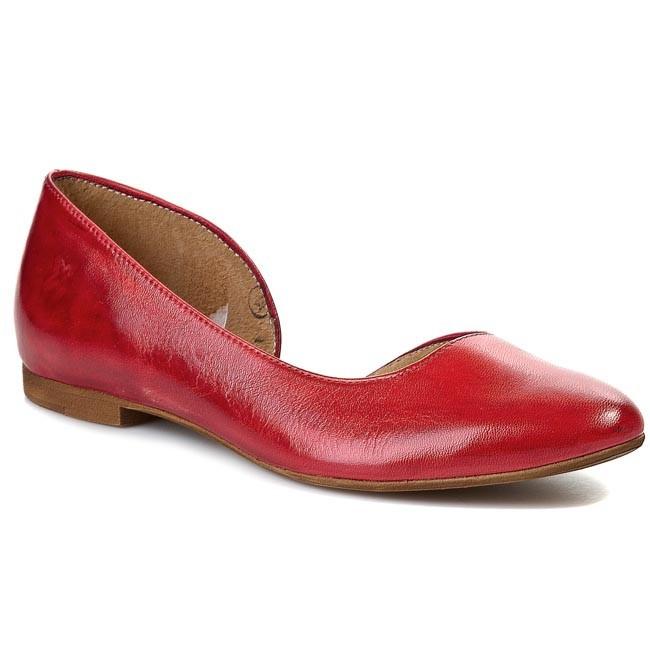 Flats MACIEJKA - 01295-08/00-5 Red