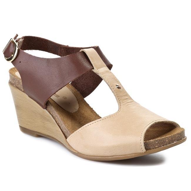 Sandals KARINO - 0928/043-1 Beige Brown