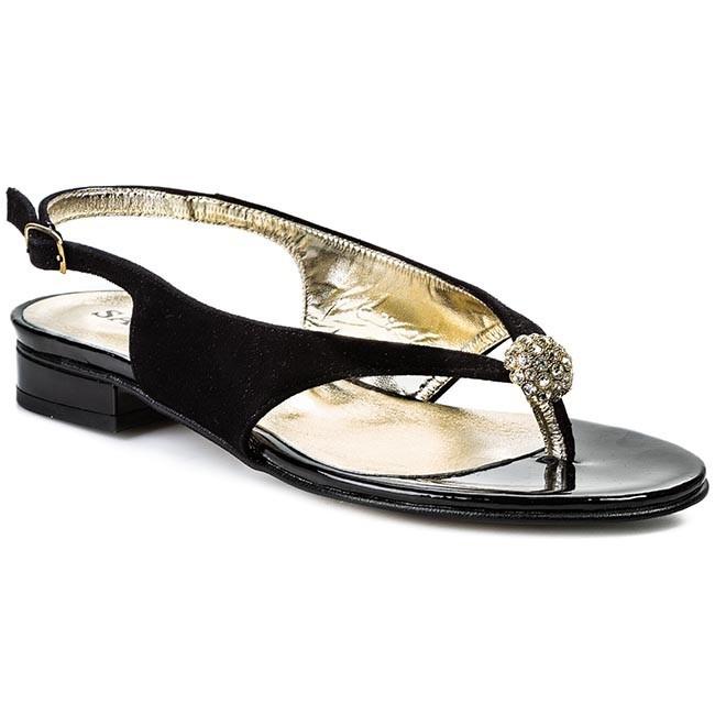 Slides SAGAN - 1663 Black