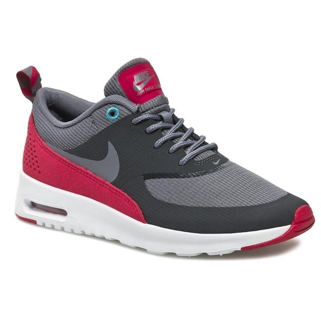 Shoes NIKE - Wmns Nike Air Max Thea 599409 009 Anthracite/Cl Grey/Lgn Red/Plrzd Blue