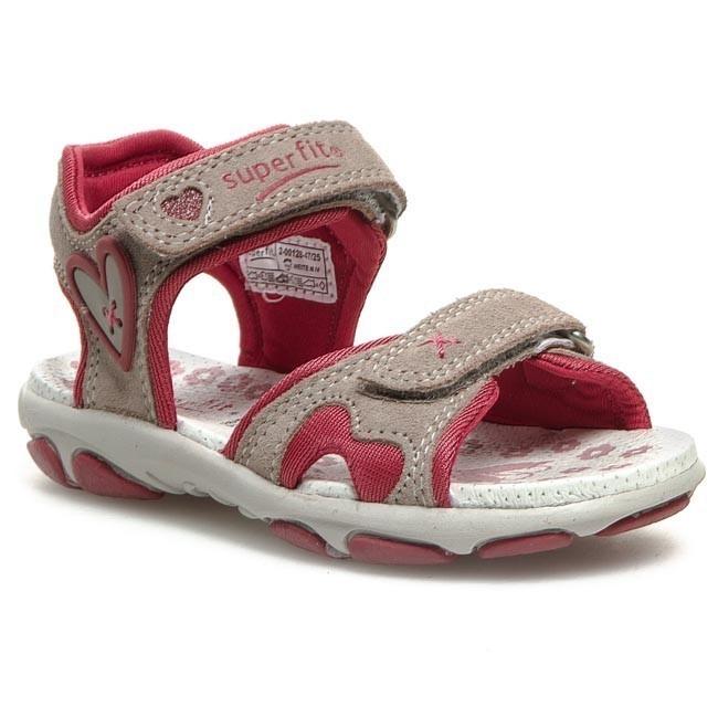 Sandals SUPERFIT - 2-00128-47 Pebble Kombi D