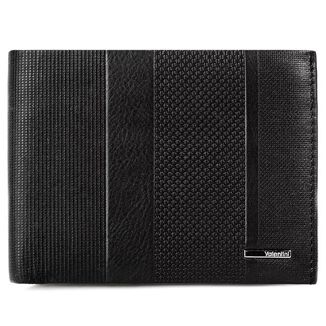 Large Men's Wallet VALENTINI - 157.274 Black