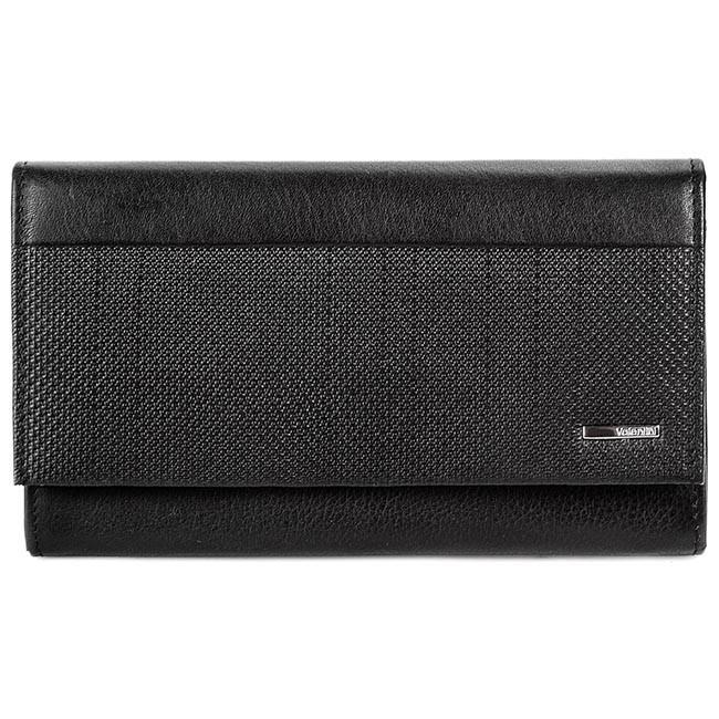 Large Women's Wallet VALENTINI - 157.262 Black