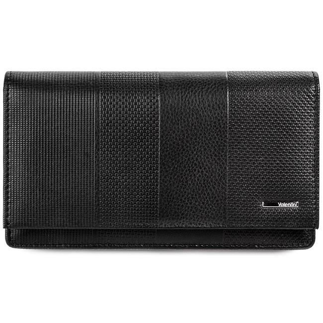 Large Women's Wallet VALENTINI - 157.550 Black