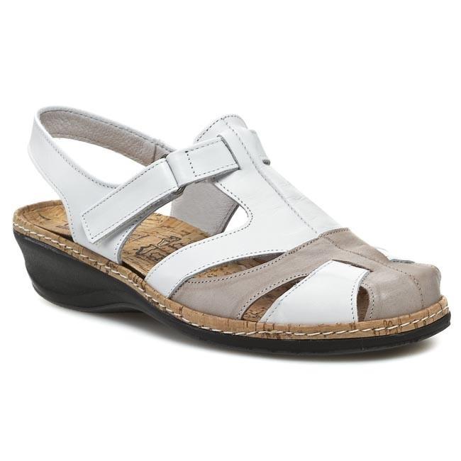 Sandals COMFORTABEL - 720079 Weiss 3
