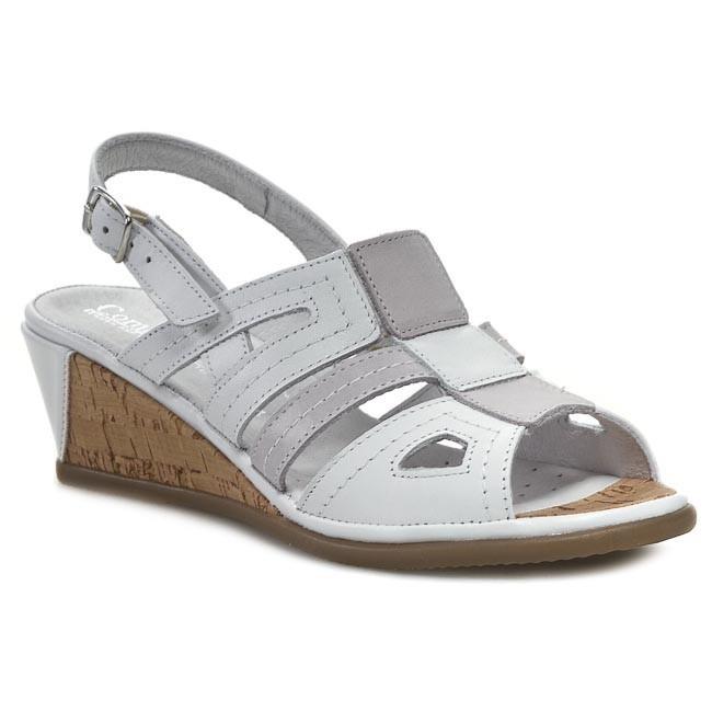 Sandals COMFORTABEL - 710602 White Grey