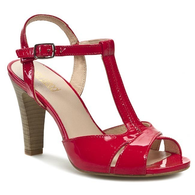 Sandals EKSBUT - 2264-733-1G Red