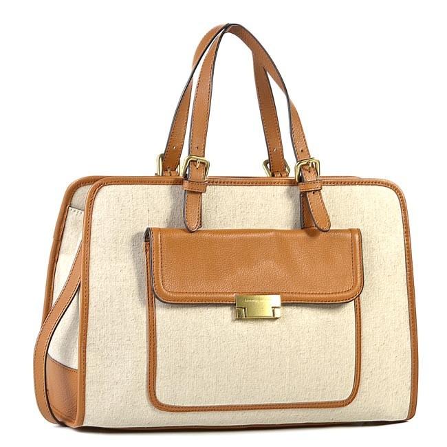 Handbag TOMMY HILFIGER - Edie Canvas Square BW56923135 950