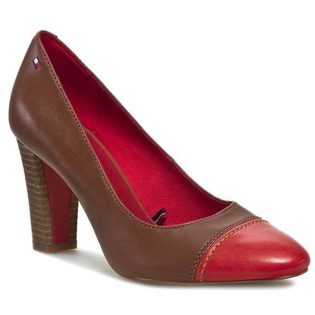 High Heels TOMMY HILFIGER - Lola 2A FW56816620 Summer Cognac/Poppy Red 929