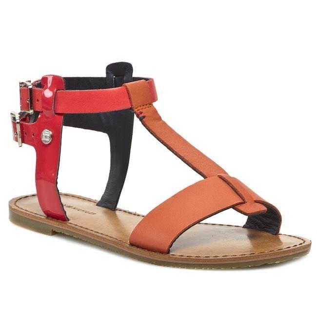 Sandals TOMMY HILFIGER - Julia 22A FW56816796 Camelia/Pop Coral 692