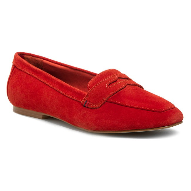 Flats TOMMY HILFIGER - Kimberly 1B FW56816850 Pop Coral 630