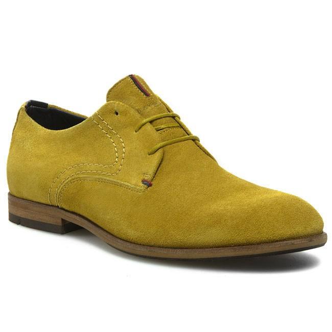 Brogues TOMMY HILFIGER - Colton 1B FM56816641 Mineral Yellow 722