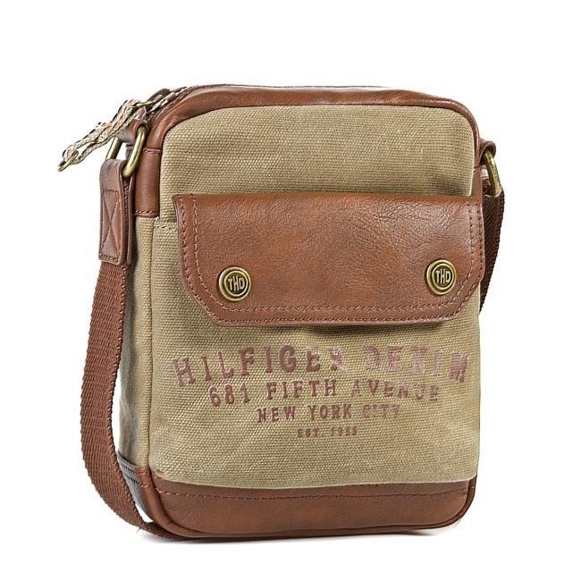 Messenger Bag TOMMY HILFIGER - DENIM - Zak Mini Reporter EK56923313 913