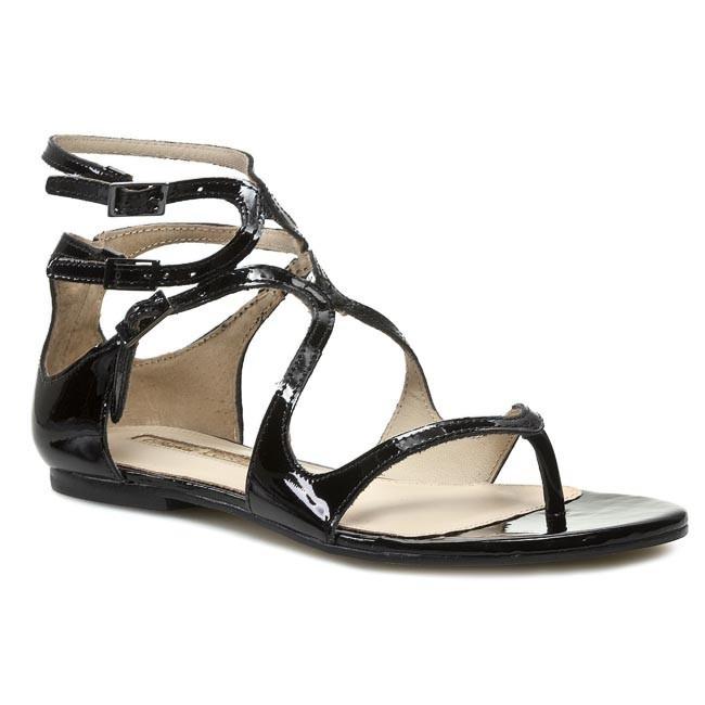 Sandals BUFFALO LONDON - Patent 134X-019 Black 01