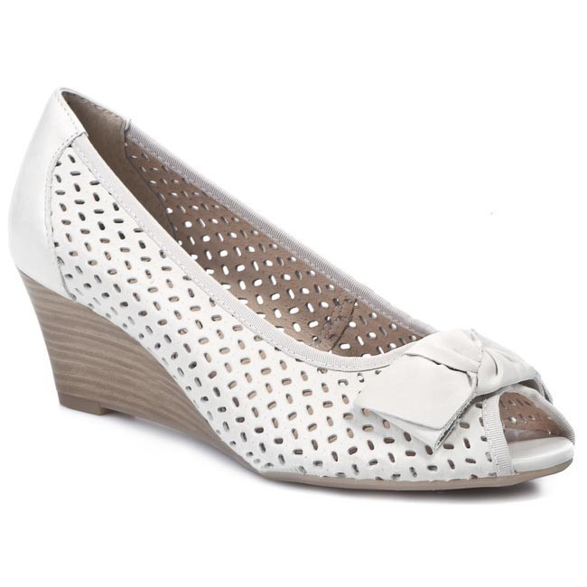 Wedges CAPRICE - 9-29312-32  Offwhite 109
