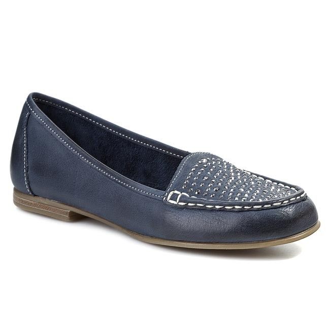 Moccasins MARCO TOZZI - 2-24224-22 Navy Antic 892