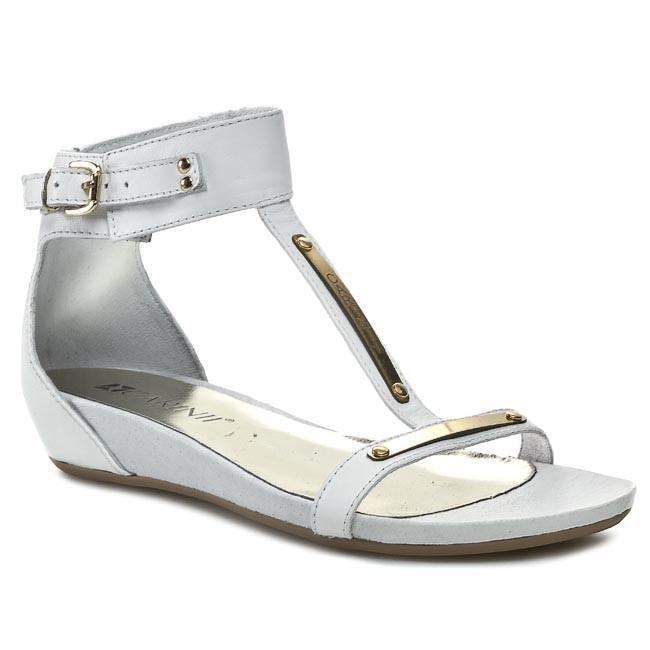 Sandals CARINII - B2202 Nappa Brasile Bianco