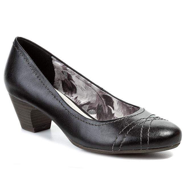 Heels MARCO TOZZI - 2-22307-22 Black 001