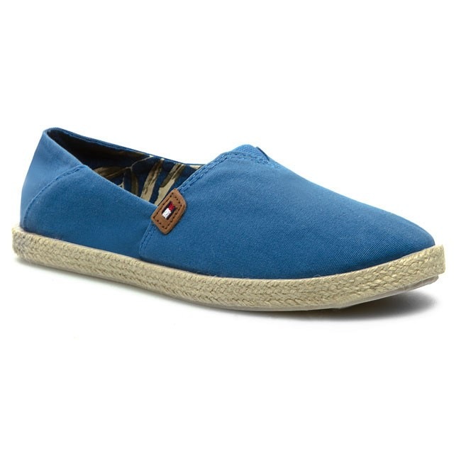 Espadrilles TOMMY HILFIGER - FW56817416 Federal Blue 973