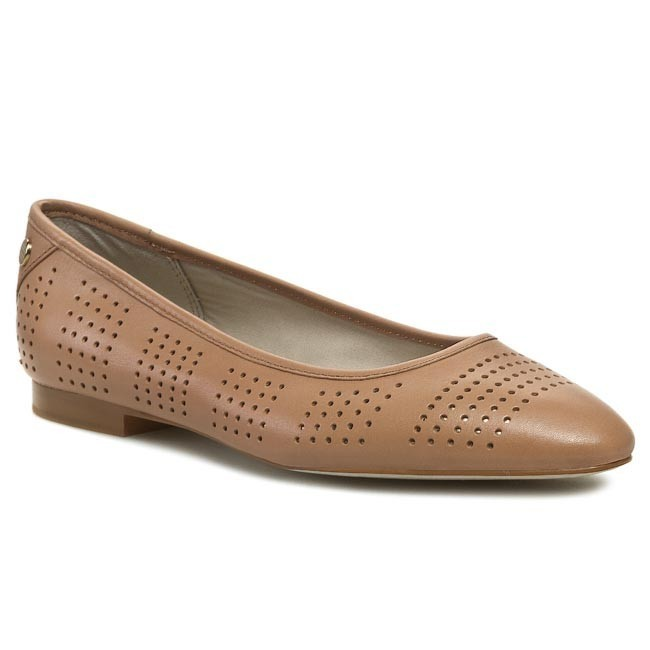 Flats TOMMY HILFIGER - Lily 2A FW56816853 Wheat 024
