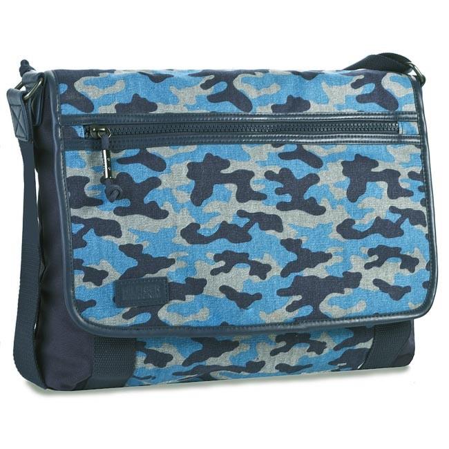 Bag TOMMY HILFIGER - DENIM Ayden Messenger W/Fl EK56923227 471
