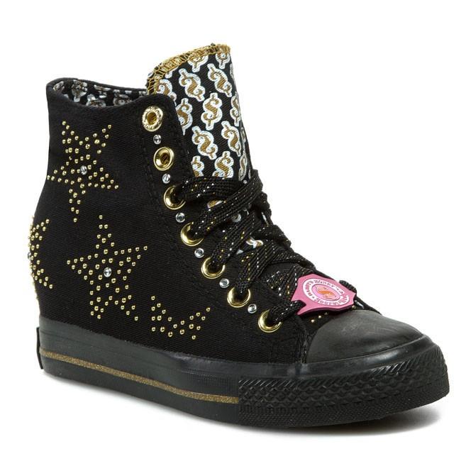 Sneakers SKECHERS - Gimme - Star Studded 39101/BKGD Black/Gold