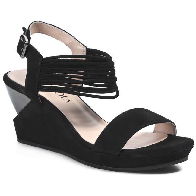 Sandals SCA'VIOLA - LUX09 Black