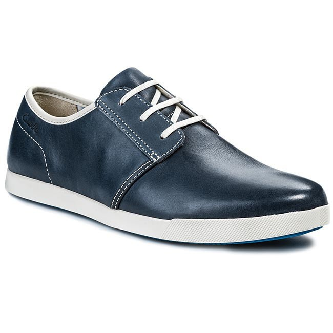 Shoes CLARKS - 203544947 Navy Leather
