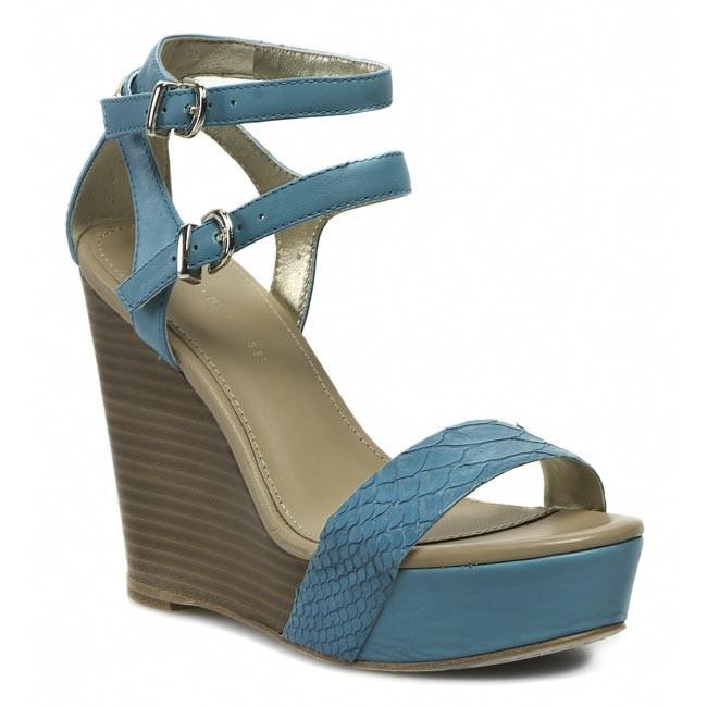 Sandals TOMMY HILFIGER - Estelle 20Z FW56816775 Turquoise 463