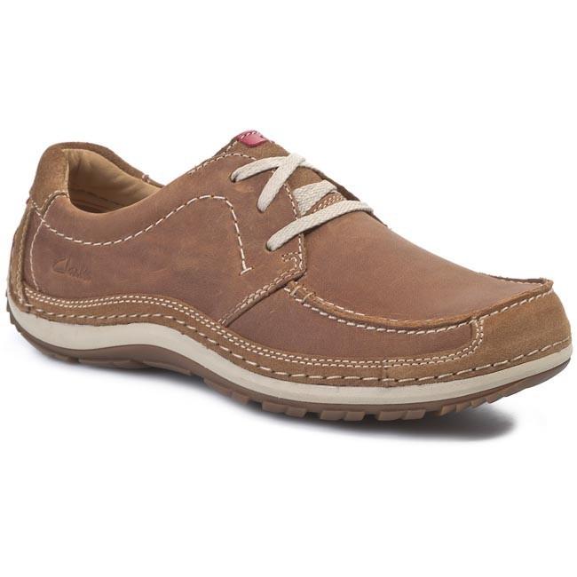 Shoes CLARKS - Shiply Way 203583797 Cognac