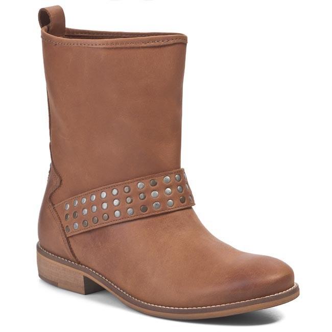 Boots TOMMY HILFIGER - EN56817063 Summer Cognac 929