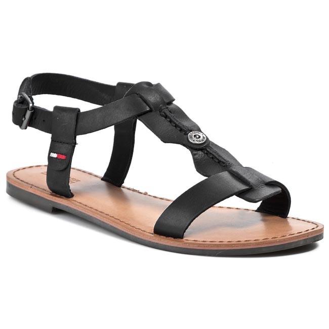 Sandals TOMMY HILFIGER DENIM - Suzzy 6A EN56817100 Black 990
