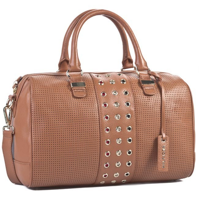 Handbag TOMMY HILFIGER - Lilly Grommets Duff BW56923164 950