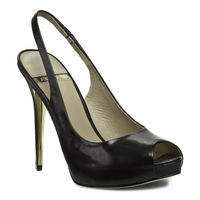 Sandals GUESS - BY MARCIANO - Sato FL2STO LEA05 BLACK