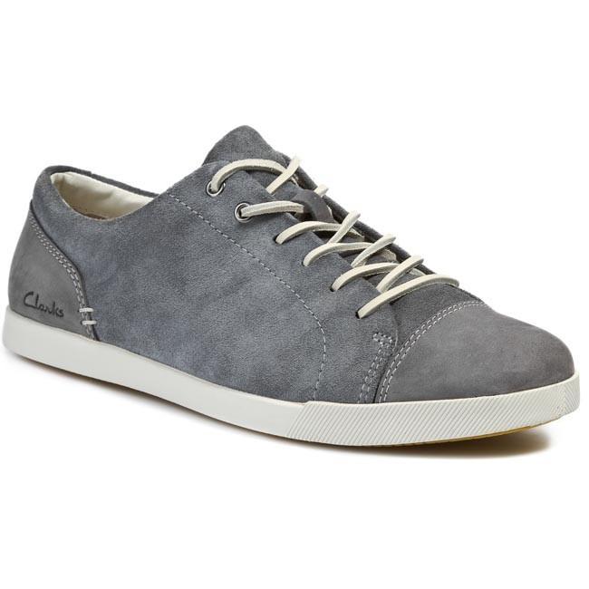 Shoes CLARKS - Nadon Mix 203577717 Grey Combi Suede