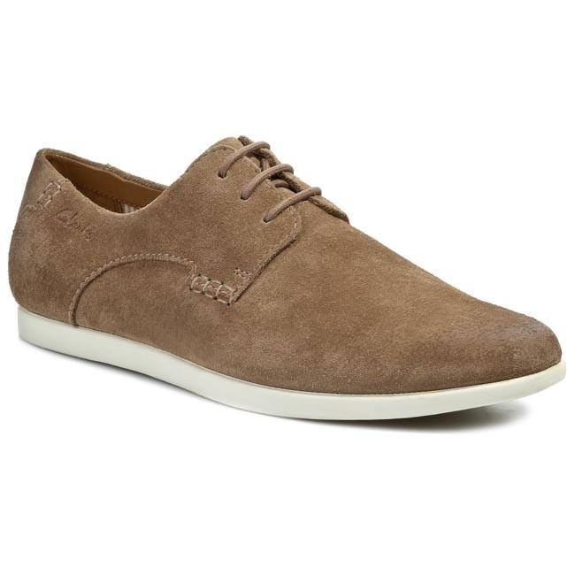Shoes CLARKS - Newell Edge 203577907 Wolf Suede