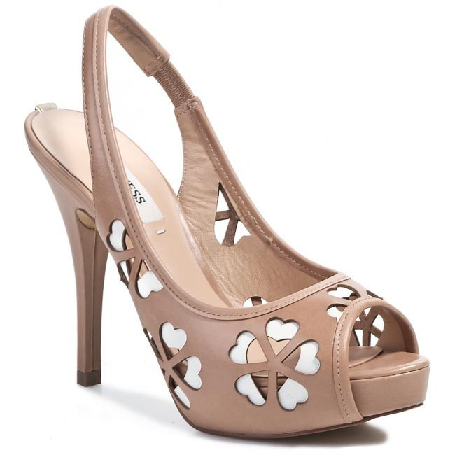 Sandals GUESS - Hebe FL2HEB LEA05 TAN
