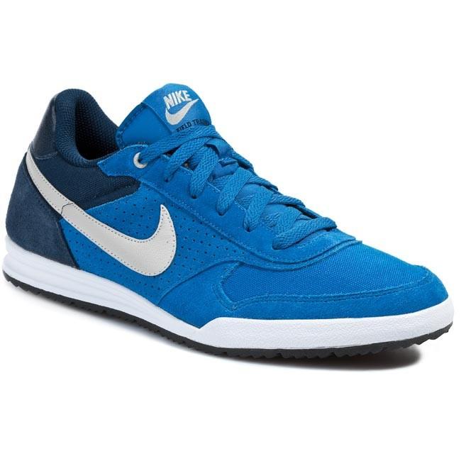 Shoes NIKE Field Trainer 443918 401 Military BlueLight Iron OreObsidianWhite