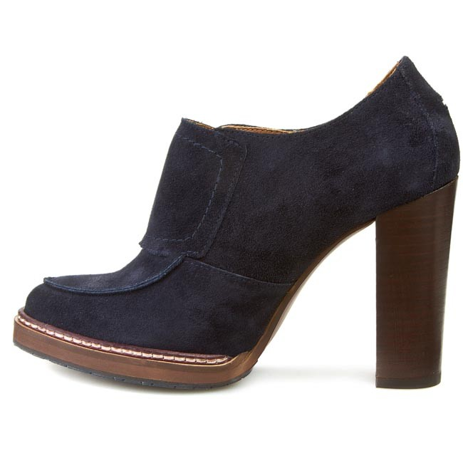 high heels tommy hilfiger gracie 2b fw56817716 midnight. Black Bedroom Furniture Sets. Home Design Ideas