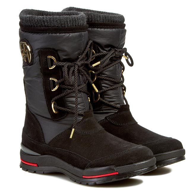 Snow Boots TOMMY HILFIGER - Bridget 3C FW56817984 Black